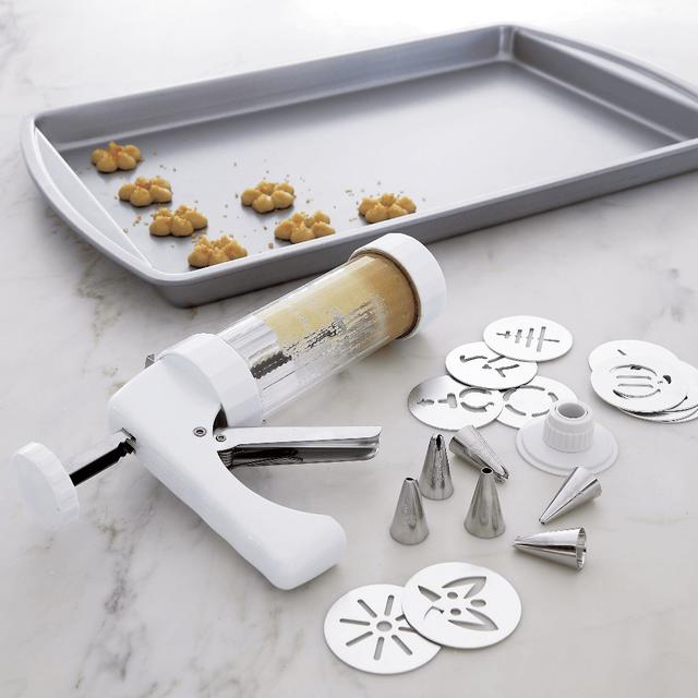 Cookie Press and Decorating Kit